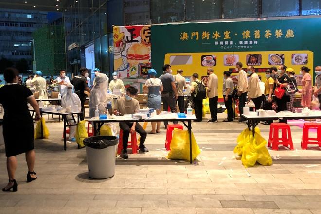 TQ phong tỏa trung tâm thương mại ở Thâm Quyến vì ca nhiễm Covid-19