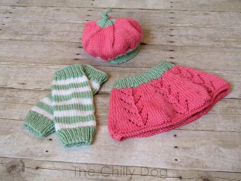 Knitting Pattern: Baby Strawberry Hat | The Chilly Dog