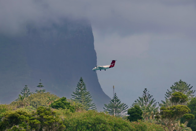 Lord Howe Island Landung Qantas schwierig Wetter Berg Gefahr Tipps gegen Flugangst
