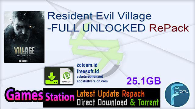Resident Evil Village -FULL UNLOCKED RePack