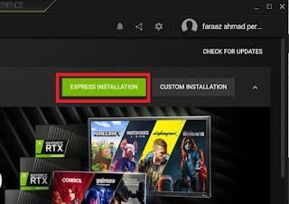 Cara Update Driver Nvidia GeForce di Laptop