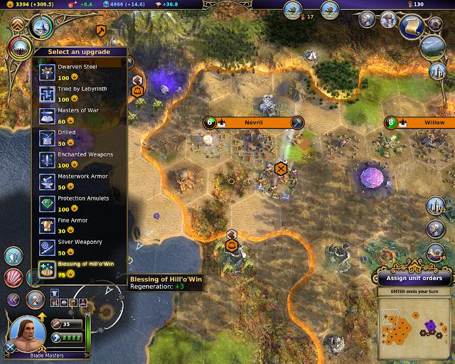 Fighters Perks | Warlock - Master of the Arcane screenshot