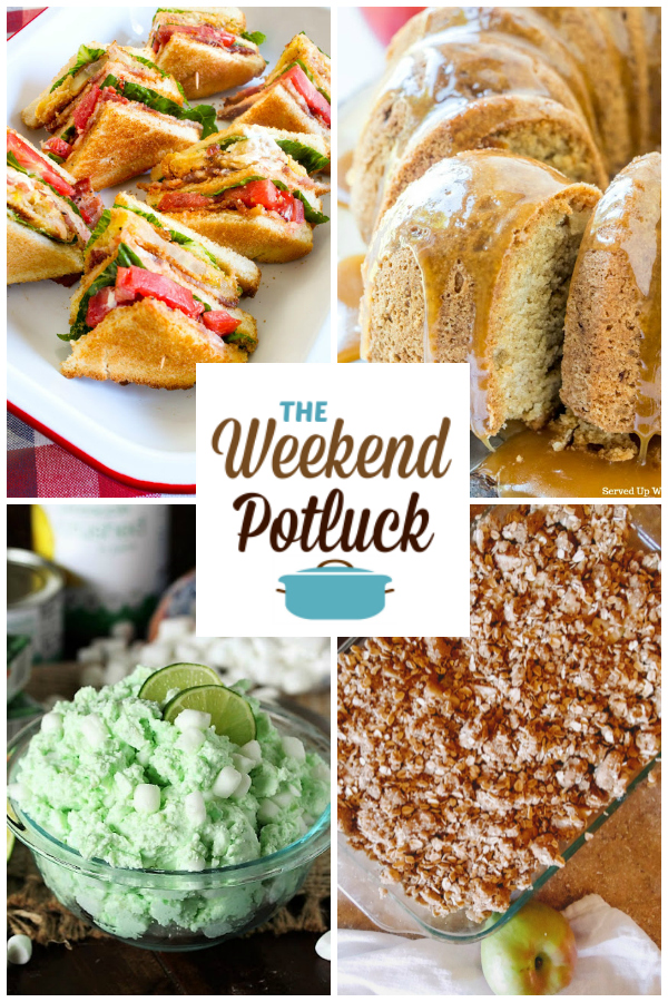 Fried Green Tomato BLT, Caramel Apple Pound Cake, Sea Foam Salad, Apple Crisp and dozens of new recipes from some of the TOP recipe creators online and on Pinterest!
