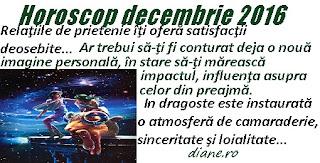 Horoscop Berbec decembrie 2016