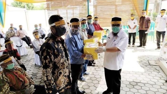 Ketua Komisi IV DPRD Lampung Ajak Warga Jati Agung Awasi Pengunaan Dana Covid-19