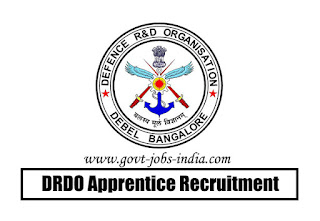 DRDO Apprentice Recruitment 2020