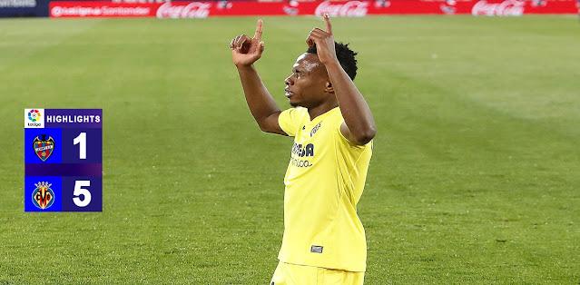 Levante vs Villarreal – Highlights