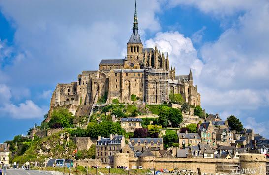Mont Saint Michel Normandia Franta