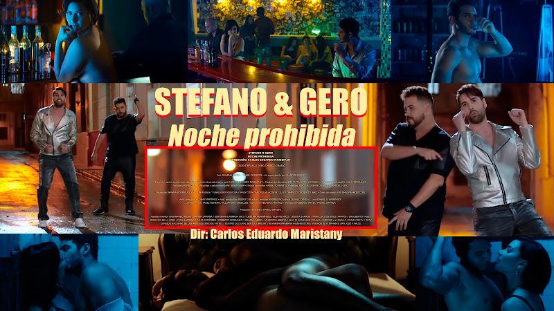 Stefano & Gero - ¨Noche prohibida¨ - Videoclip - Director: Carlos Eduardo Maristany. Portal Del Vídeo Clip Cubano. Música. Italia. Cuba.