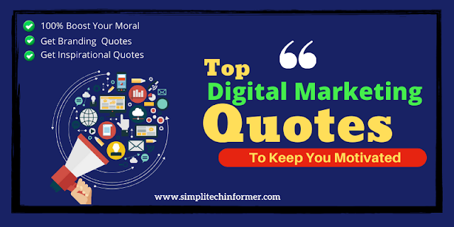 80+ Digital Marketing Quotes | Tagline Ideas for Digital Marketer