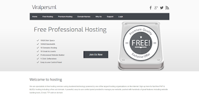ViralPers Free Hosting Review