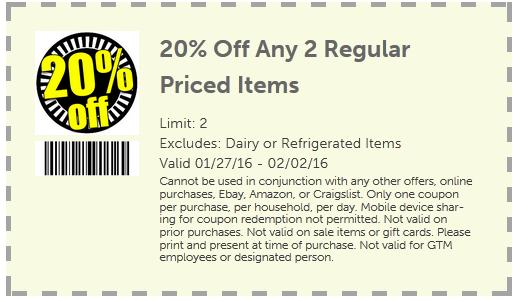 Gtm discount coupon