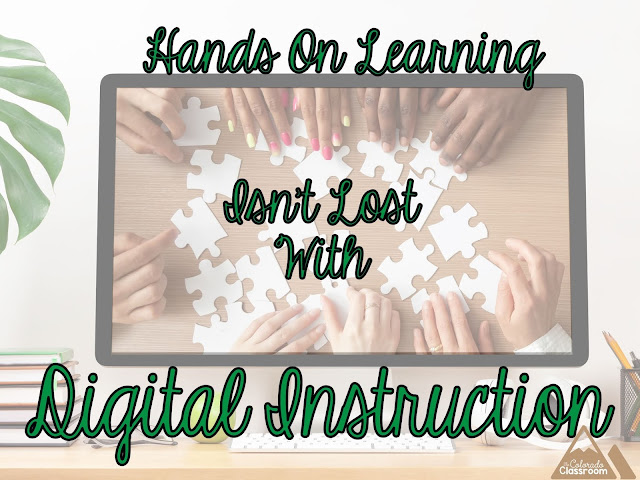Hands On Learning Isn't Lost with Digital Instruction