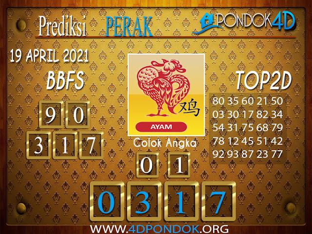 Prediksi Togel PERAK PONDOK4D 19 APRIL 2021