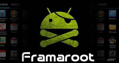 Daftar Android yang Support dengan Framaroot v1.9.3