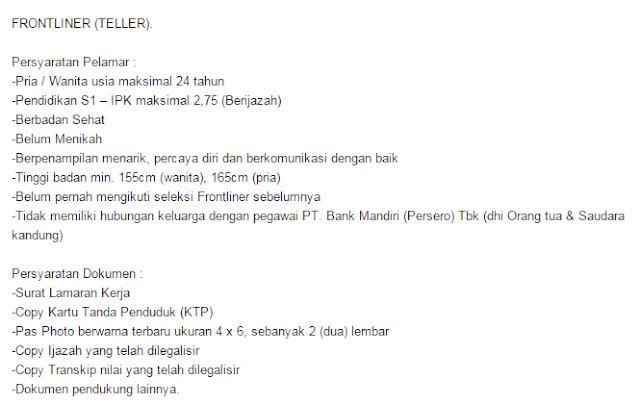 All Bank - Lowongan Kerja Frontliner Bank 2019 ( Customer Service & Teller )