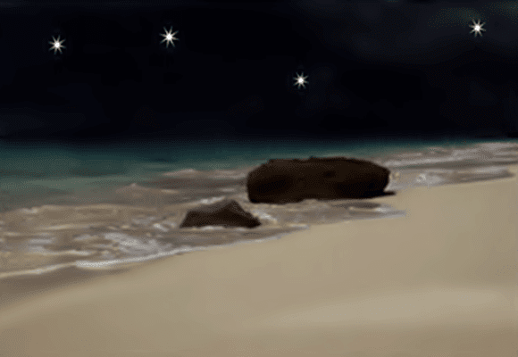 Reveillon-praia-noite