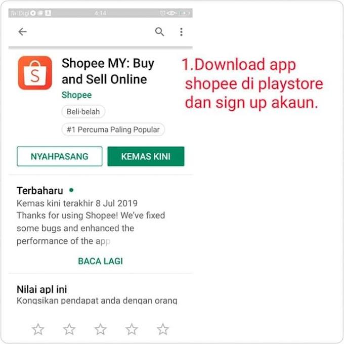 Cara Jual Barang Di Shopee Untuk Jana Keuntungan RM500-RM1500 Sehari