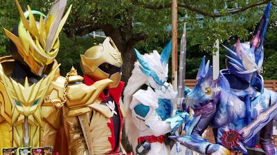 Kamen Rider Saber Special Episode Clips