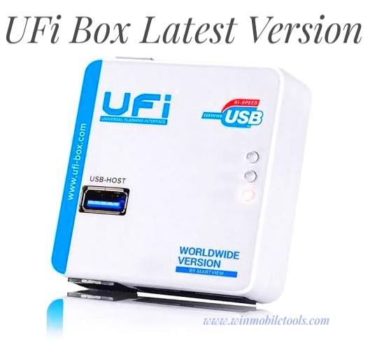 UFI Box Latest Version V1.5.0.2015 Free Download