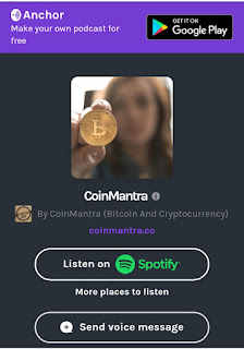Anchor.fm, CoinMantra, Podcasting, Spotify