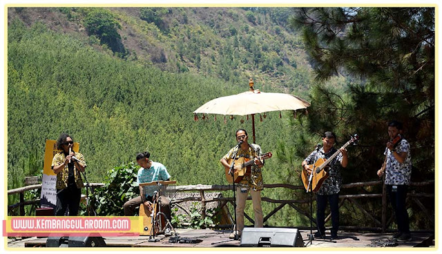 kompetisi band akustik rhythm of the pines di the lodge maribaya