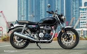 Trên yên Honda CB350 Hness 2021 đầu tiên Việt Nam kèm giá bán