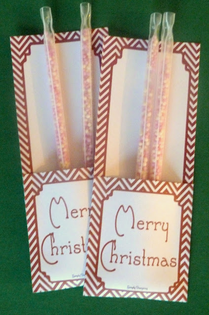 christmas treat packets