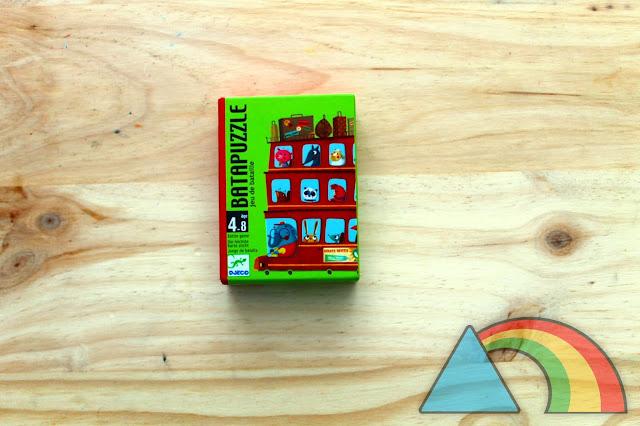 Juego de cartas Batapuzzle de Djeco