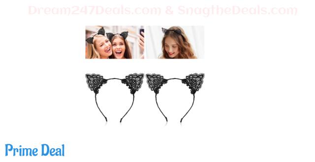 55% off Cat Ear Headbands