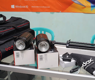 Paket Lampu Studio Komplet ( Godox Pioneer Studio )