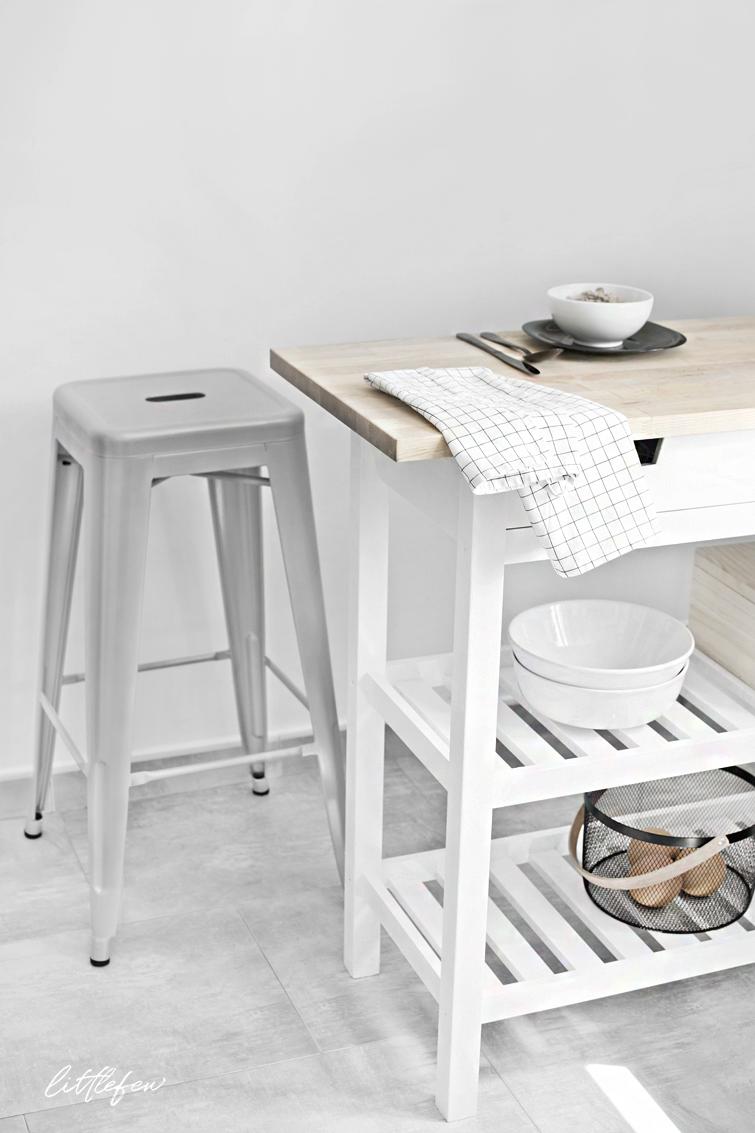 NEW STORAGE SOLUTION IN KITCHEN / Nueva solución de almacenaje de estilo nórdico en la cocina