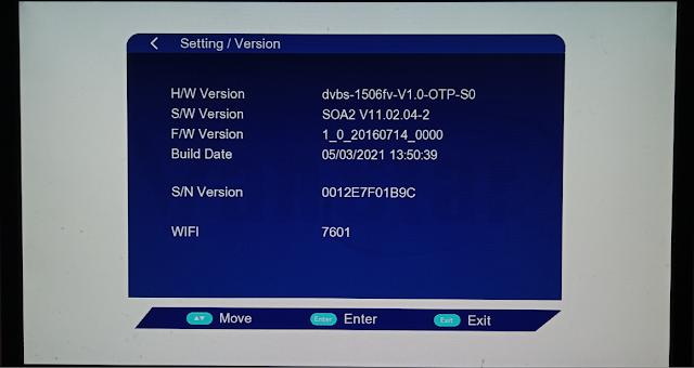 VANSTAR V8 PRO 1506FV 512 4M NEW SOFTWARE 5 MARCH 2021