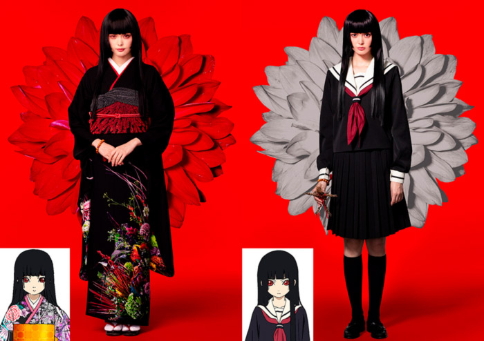Hell Girl (Jigoku Shoujo) live-action - Ai Enma