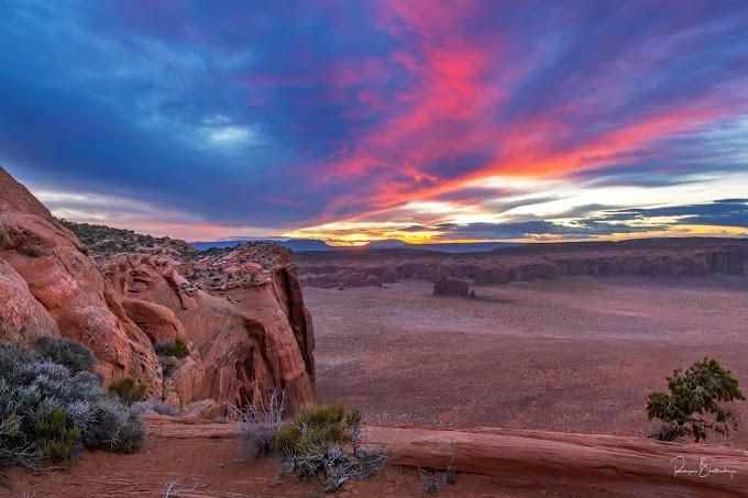 """A Glorious Sunset"" - Utah"