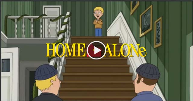 "This is what happens if the ""Home Alone"" kid is Robbed By Clever Robbers."