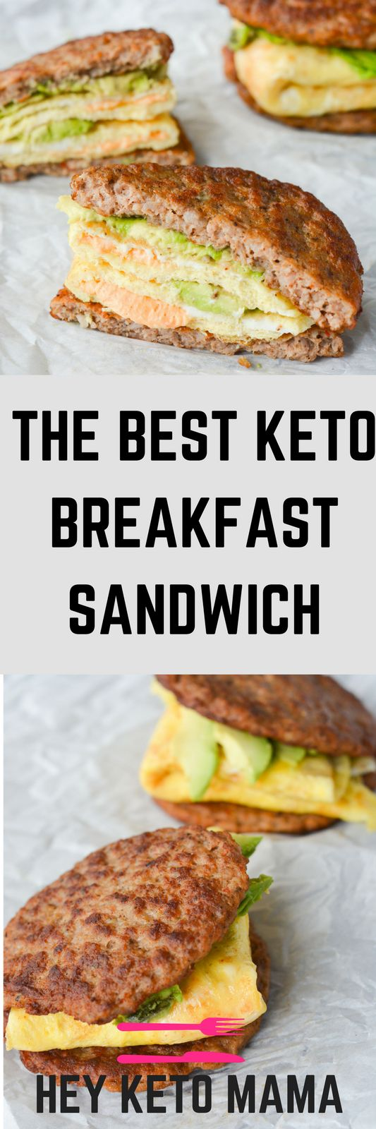 MY FAVORITE KETO BREAKFAST SANDWICH