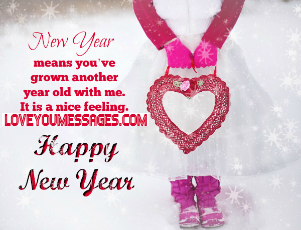 happy new year messages for love