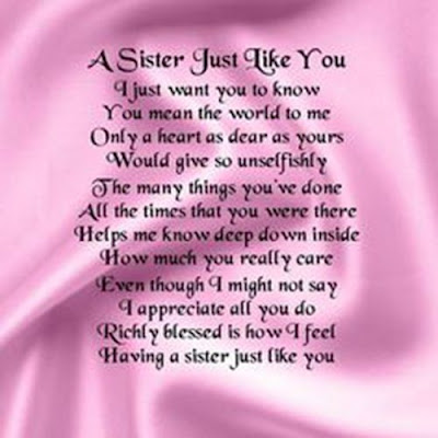 Happy Birthday wishes for sister: a sister just like you just you to know you mean the world to me