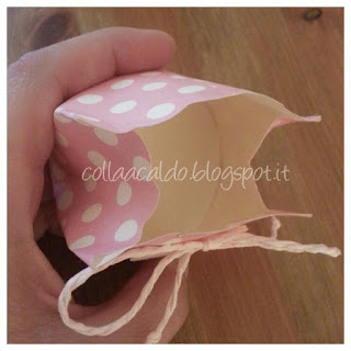 Tutorial scatola cupcake porta confetti fai da te colla a caldo