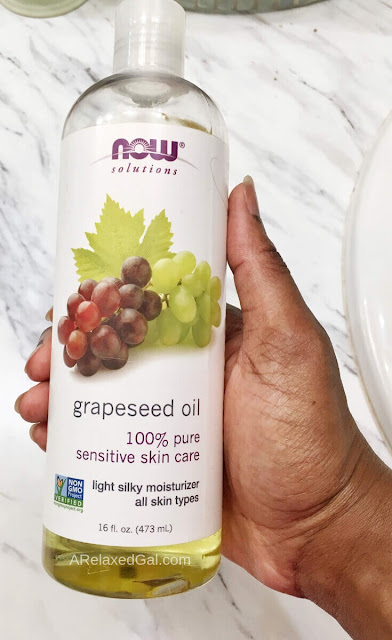 Using Grapeseed Oil On Chemically-treated Hair | A Relaxed Gal