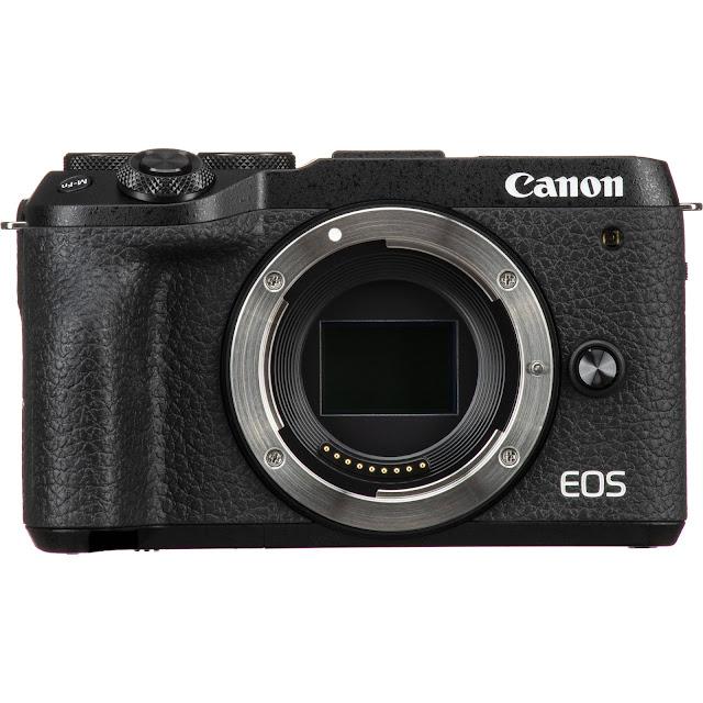 Camera for vloggers: Canon EOS M6 Mark 2