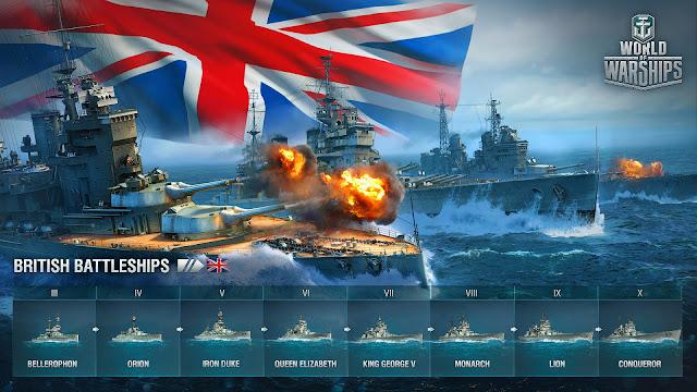 WOWS: Historia de la armada británica en la segunda guerra mundial!