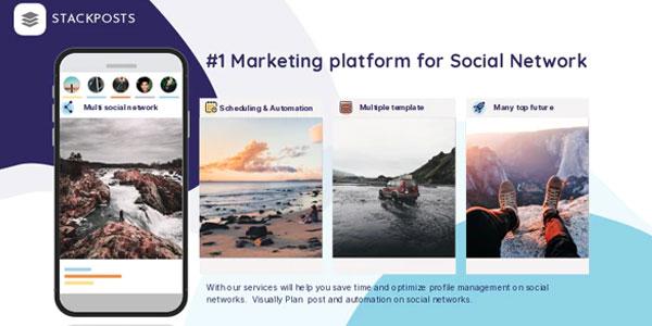 Stackposts - Social Marketing Tool