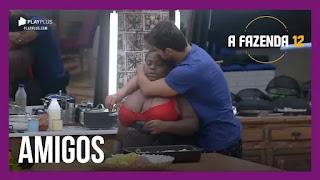 A Fazenda 12 - Mariano beija Jojo - Jakelyne desabafa sobre indicação de Mirella