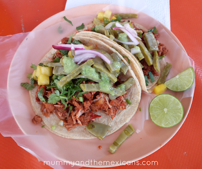Breakfasts On The Go In Mexico - Tacos De Mixiote