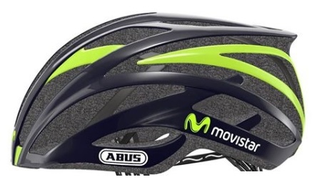 Nuevo casco del Movistar Team