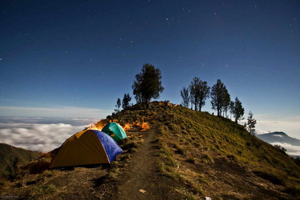 Milky nights at Plawangan Sembalun an altitude 2639 meter of Mount Rinjani