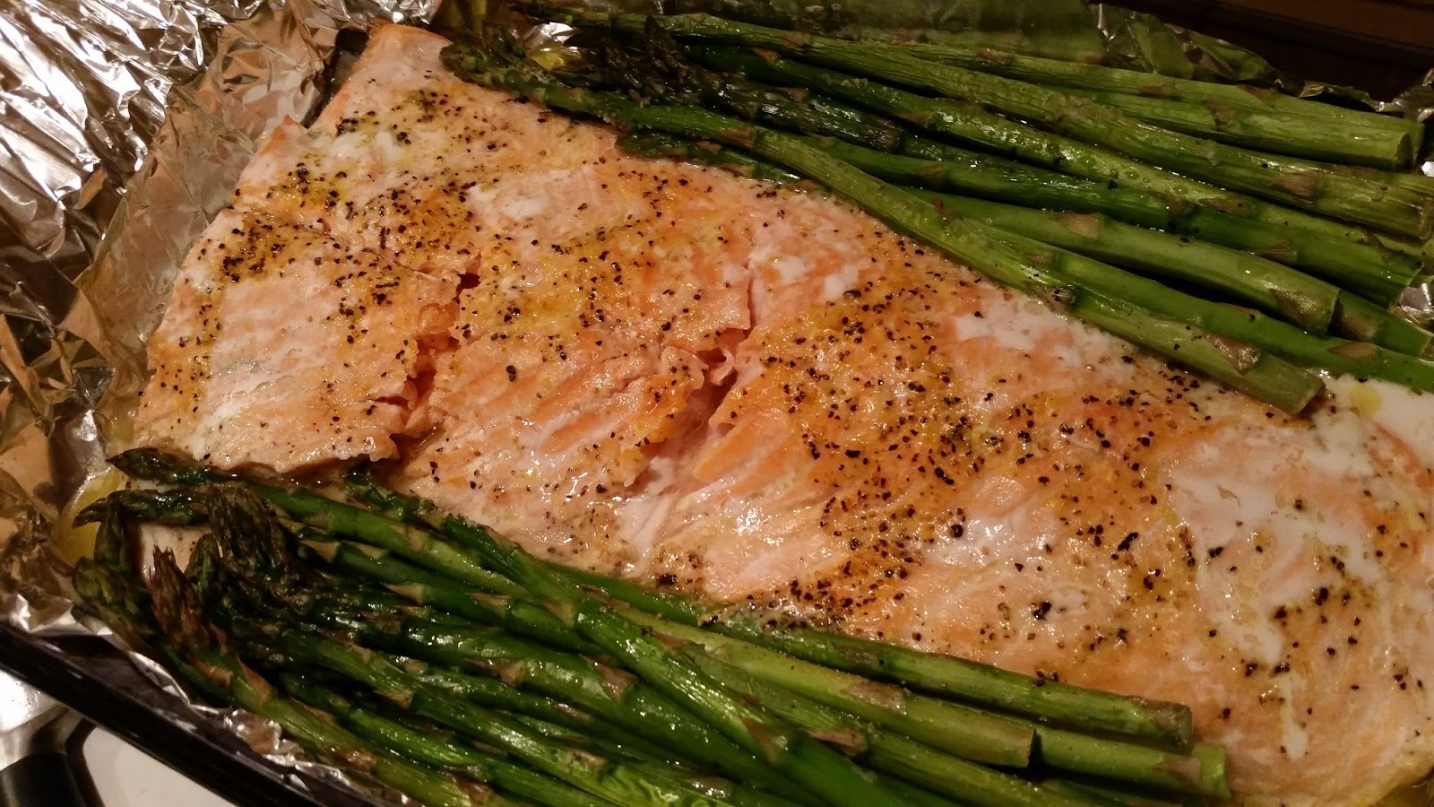 Neighbor Julia: Easy Baked Salmon and Veggies
