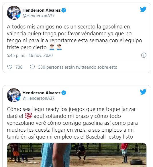 Pitcher del Magallanes solicita ayuda en Gasolina por las redes sociales